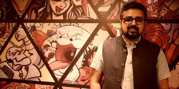 My Big Plunge - Comic Con India