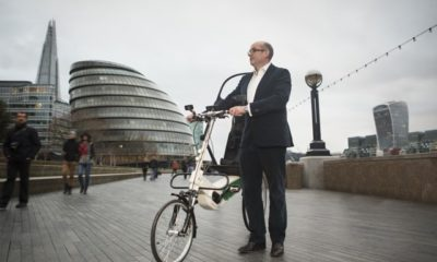 British entrepreneur claims to invent safest bike ever