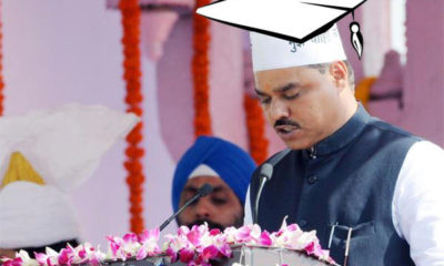 Jitendar Singh Tomar accused of fake degree; denies charges