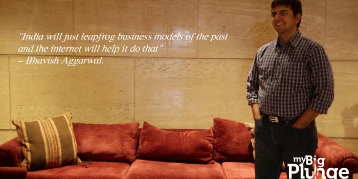 My Big Plunge - Ola founder Bhavish Aggarwal