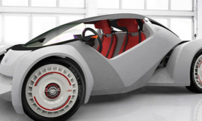 My Big Plunge - 3D printed cars