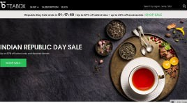 Ratan Tata's latest investment is Teabox, a specialty tea company