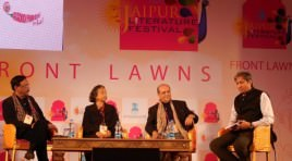Incredible stories take Jaipur Literature Fest audiences behind the conflict and unrest in the world