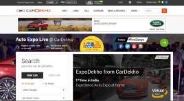 CarDekho's virtual tour brings Auto Expo 2016 to life