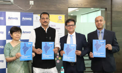 Pratap Singh Rudy launches the Amway India Entrepreneurship Report 2015- mybigplunge