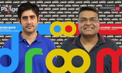 Sandeep Aggarwal FOunder Droom in conversation with My Big Plunge