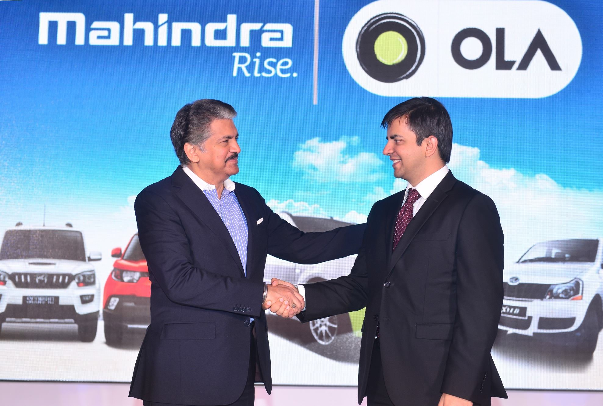 Ola signs MOU with Mahindra to empower 40, 000 driver partners by 2018- mybigplunge