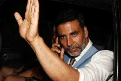 My Big Plunge | Baba Elaitchi Ambassador Akshay Kumar, Bollywood Actor : Photo Courtesy Yahoo