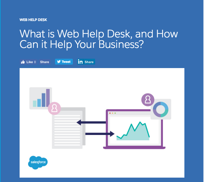 SalesForce | The help desk software from Salesforce may just be what your business needs | My Big Plunge