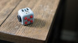 Investor Pitch? Blind date? Simply Fidgety? Fidget in style with Fidget Cube