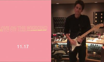 John Mayer new song Love on the Weekend