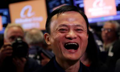 Alibaba's Jack Ma (The Chinaman) : Image Courtesy Business Insider