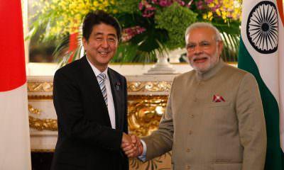Japanese Prime Minister Shinzo Abe India Prime Minister Narendra Modi nuclear deal