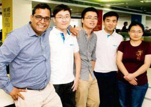 PayTM Founder Vishal Shekhar Sharma and his team
