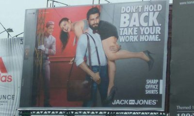 Sexist Jack and Jones Advertisement with Ranveer Singh