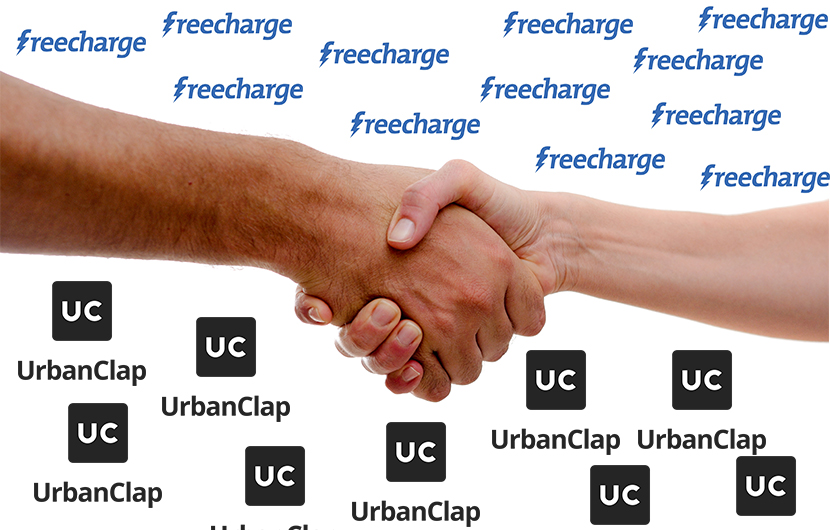 FreeCharge and UrbanClap