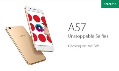 Oppo A57 launch
