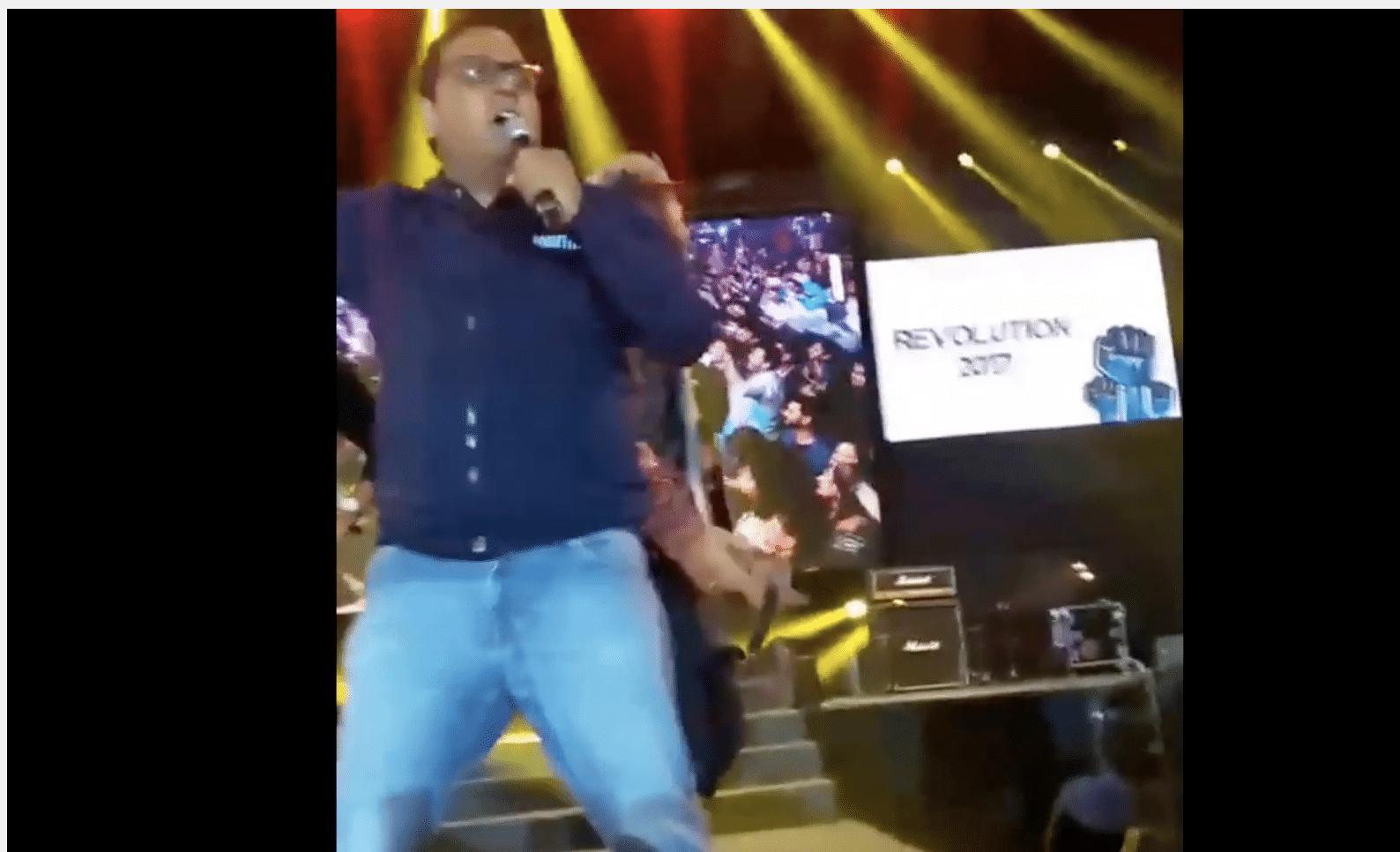 Paytm Founder Vijay Shekhar Sharma Gets Drunk