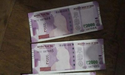 new Rs. 2,000 banknotes without Mahatma Gandhi's image