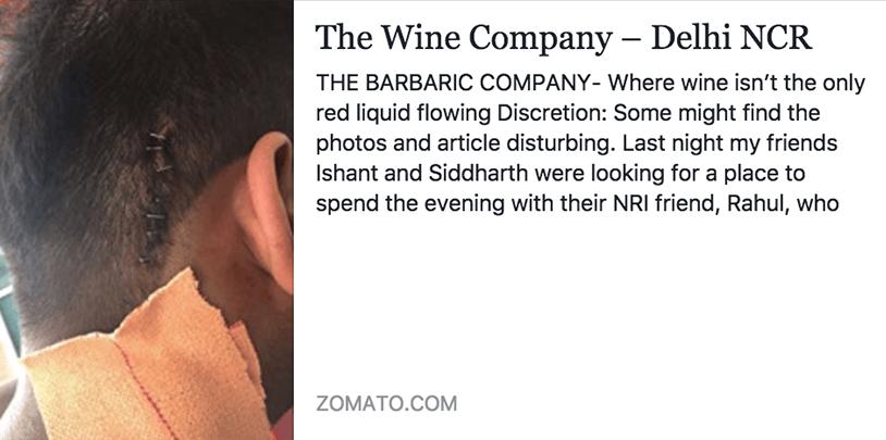 Gurgaon DLF Cyber Hub based pub Wine Company allegedly roughs up customers