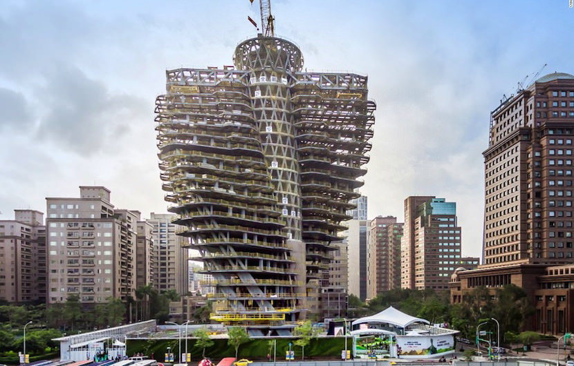 carbon-eating tower