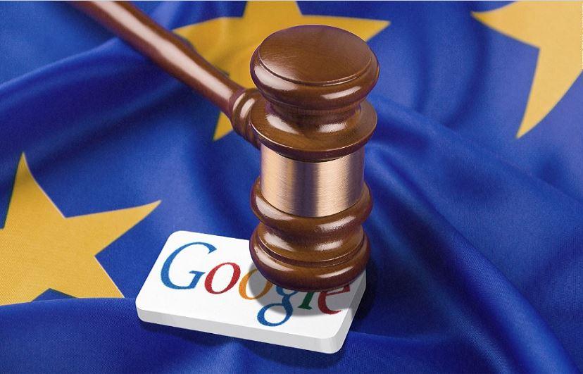 Google with a $2.7 billion fine