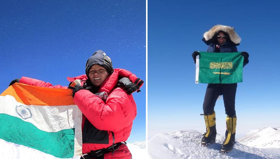 Climbing Everest: Mountaineers Arunima Sinha and Raha Moharrak discuss  physical and social challenges they overcame