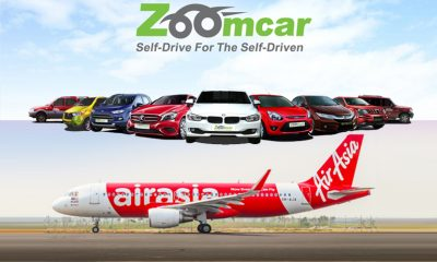 Zoomcar and AirAsia India