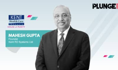 Entrepreneur in India – Dr. Mahesh Gupta, Founder Kent RO