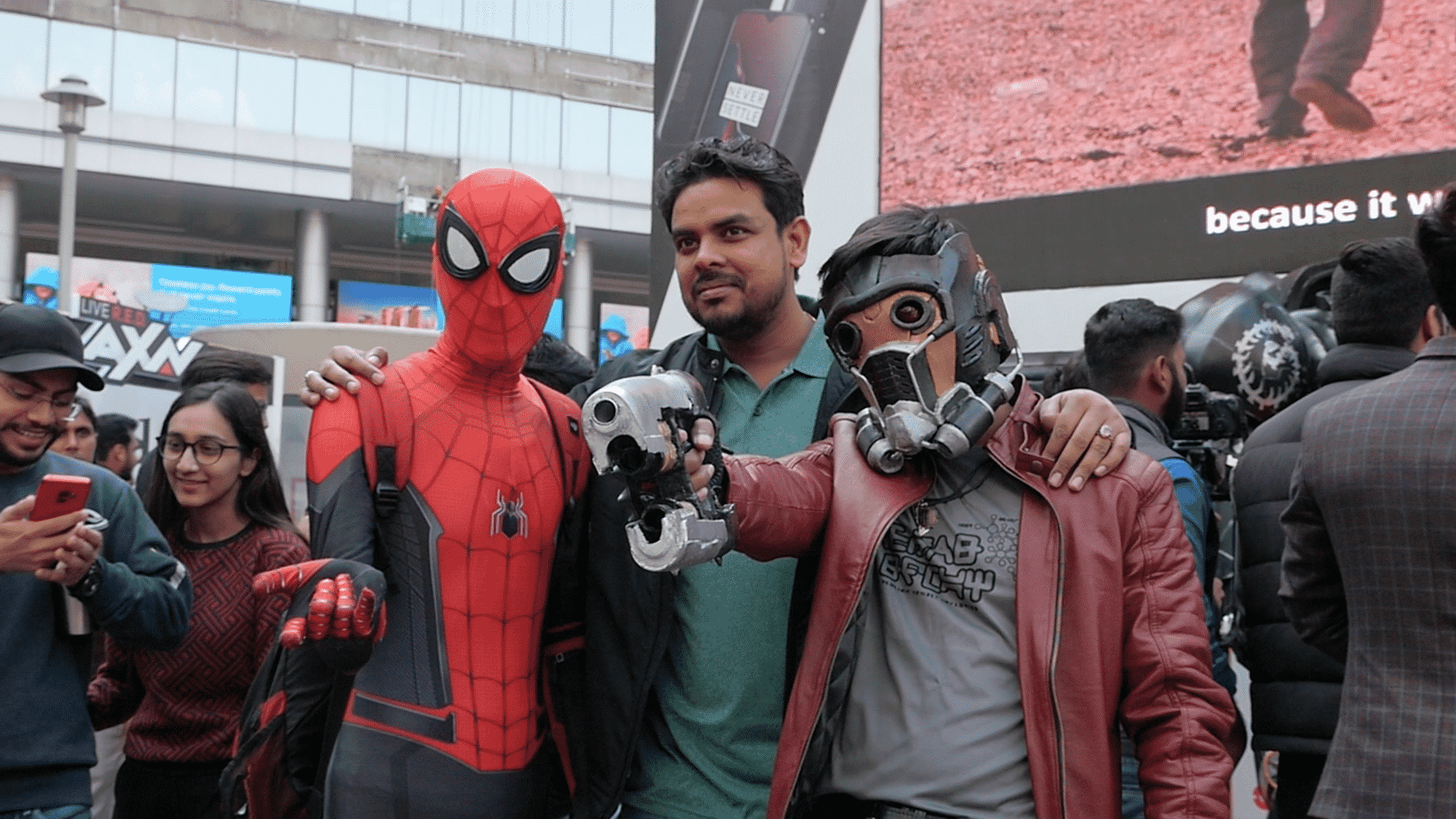 Comic Con India Cosplay - My Big Plunge