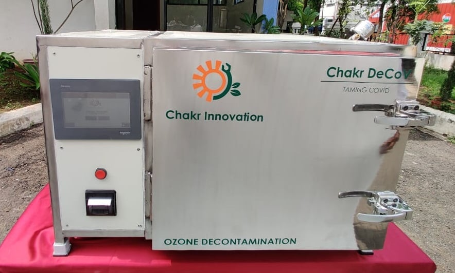 IAN backed IIT Delhi incubated startup's Chakr DeCoV to decontaminate N95 masks
