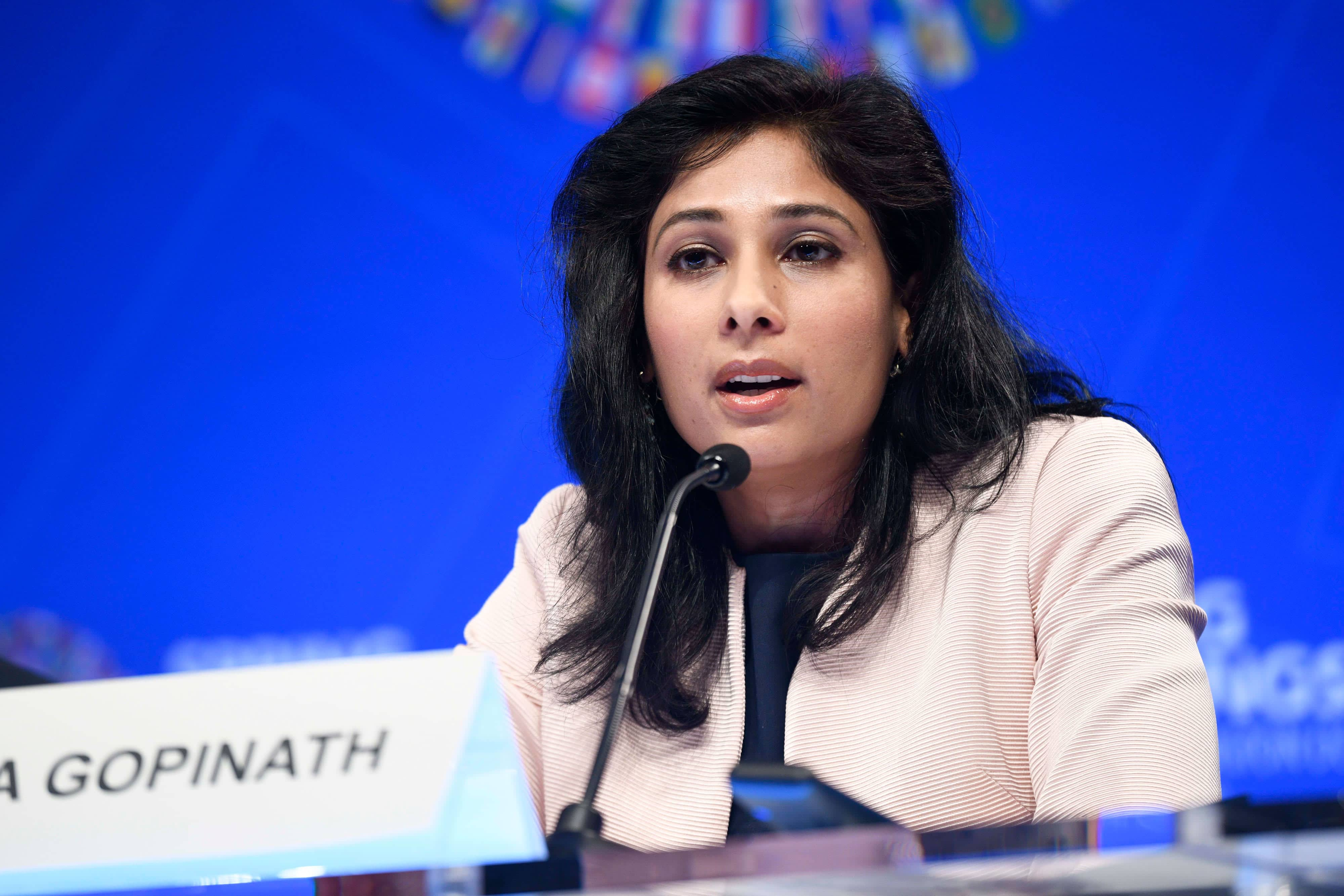India's GDP shrunk the most among G-20 countries: IMF Chief Economist Gita Gopinath