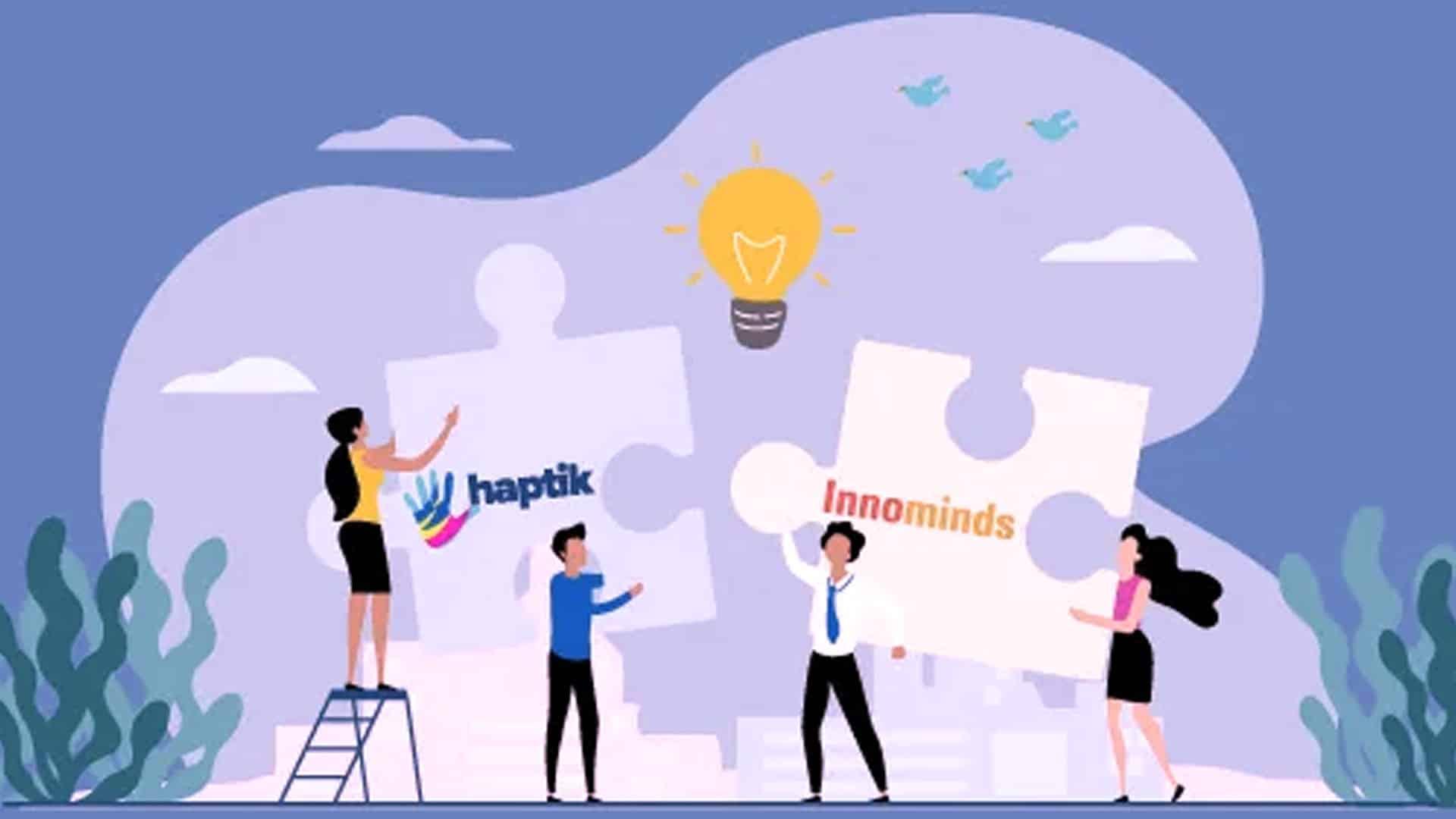 Innominds Partners with Haptik_mybigplunge02