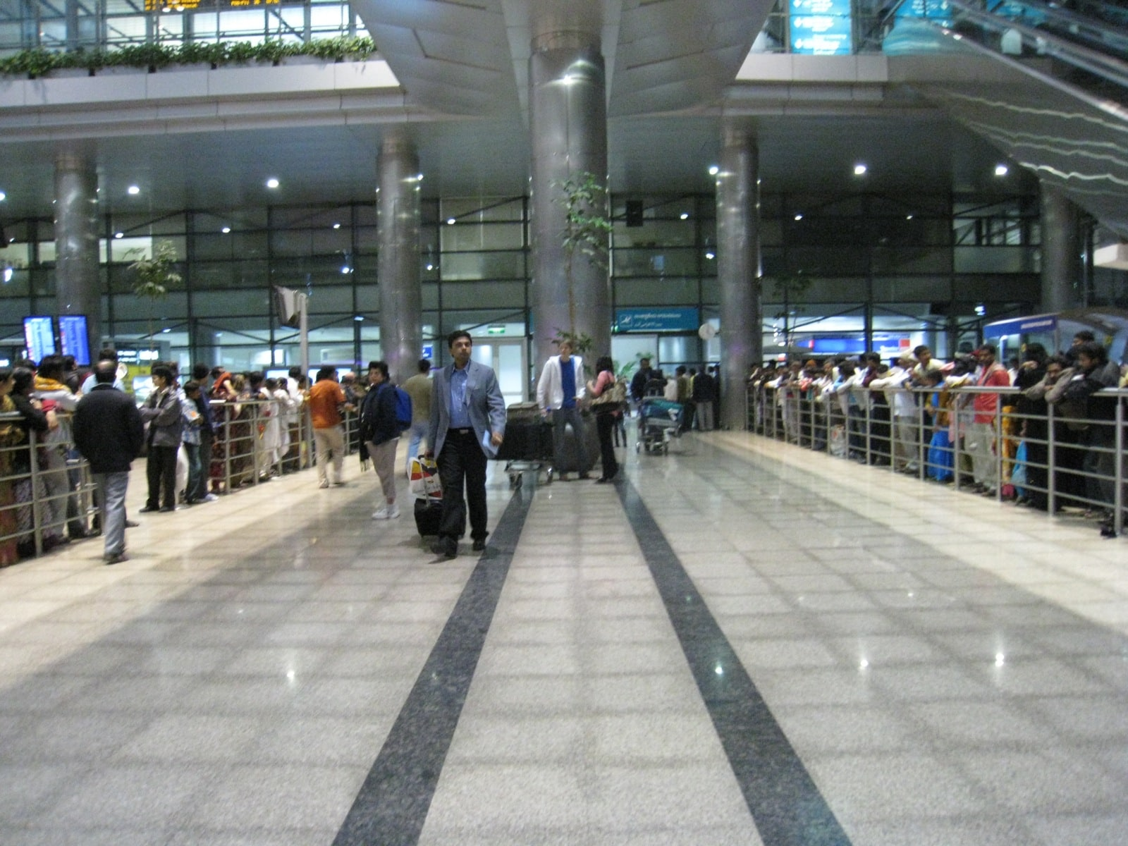 India's first IoT enabled smart baggage trolleys at Hyderabad International Airport
