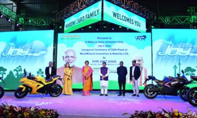 Wardwizard Innovation Inaugurates One of India's Largest Electric Two-wheelers Plant; To Generate 6,000 Employment Opportunities