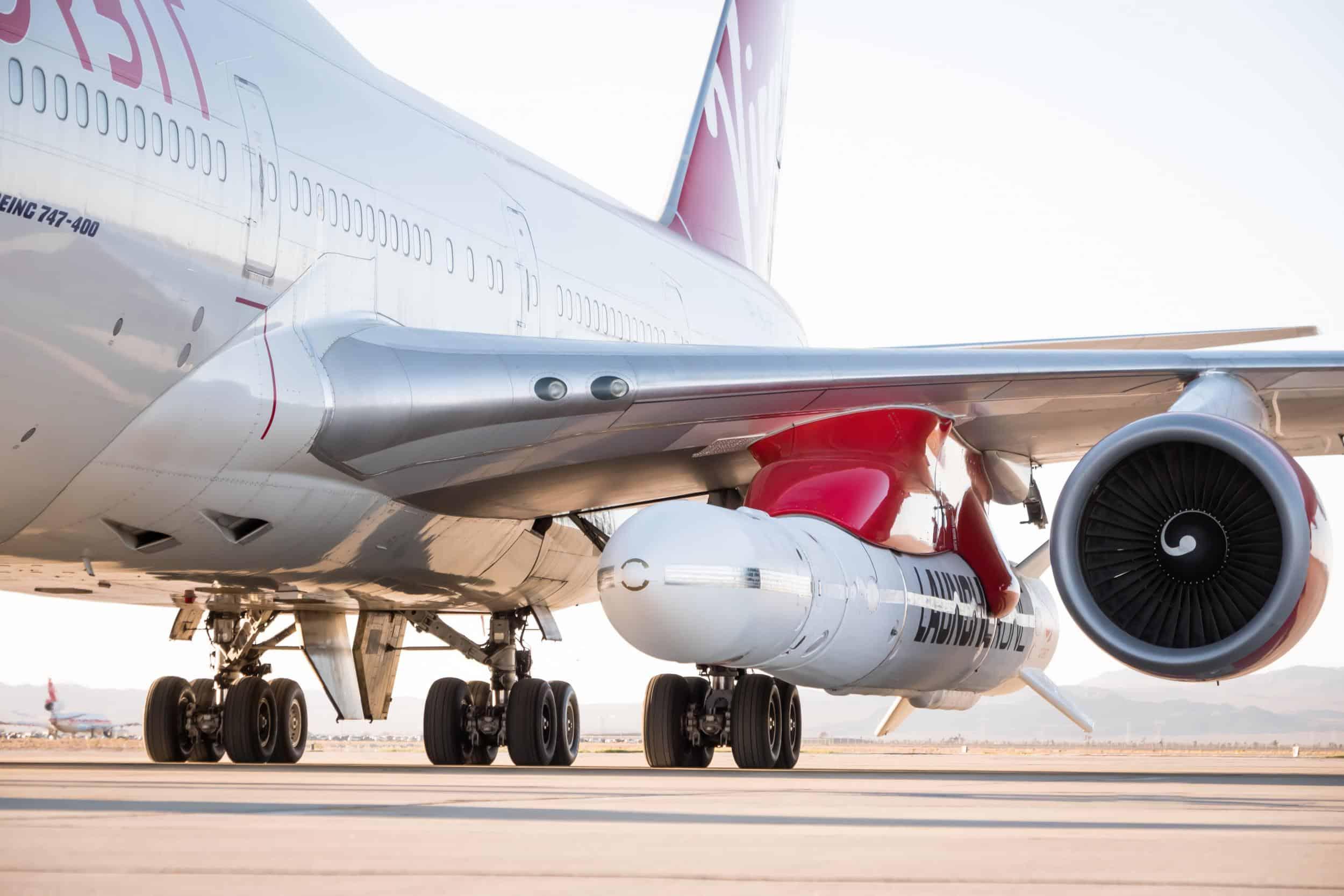 Virgin Orbit set to launch space rocket via Boeing 747 aircraft