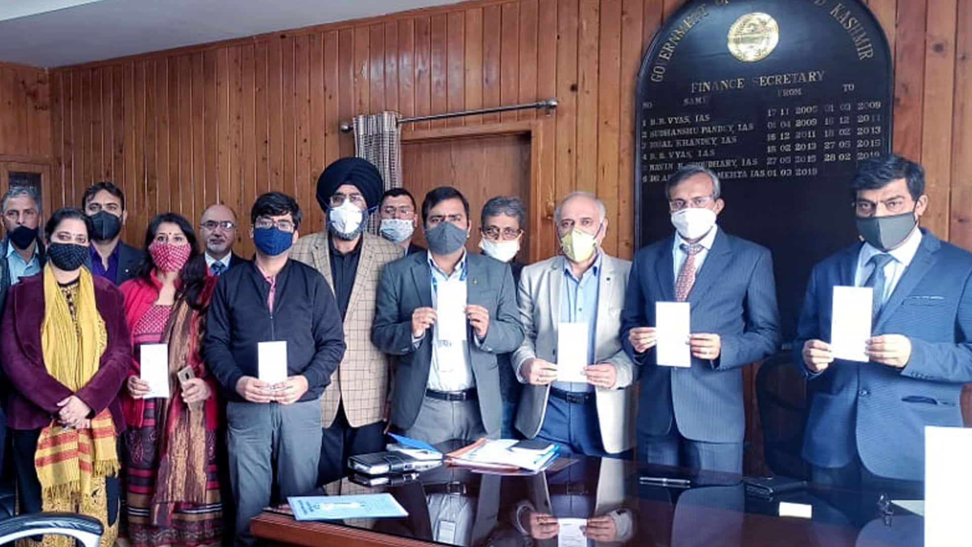 e-Kuber payments system launched in J&K