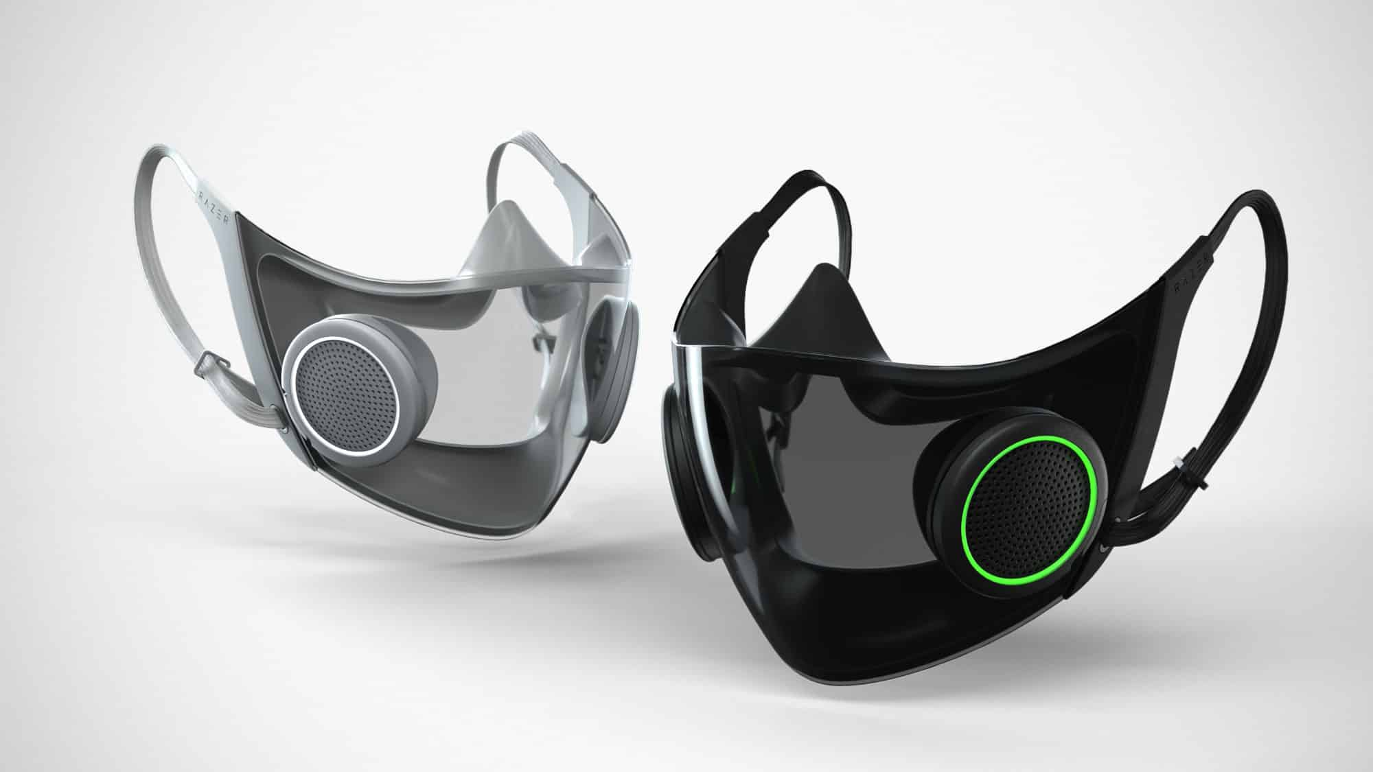 Razer's high-tech N95 face mask to go into production