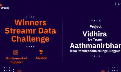 Project Vidhira wins Steamr Data Challenge