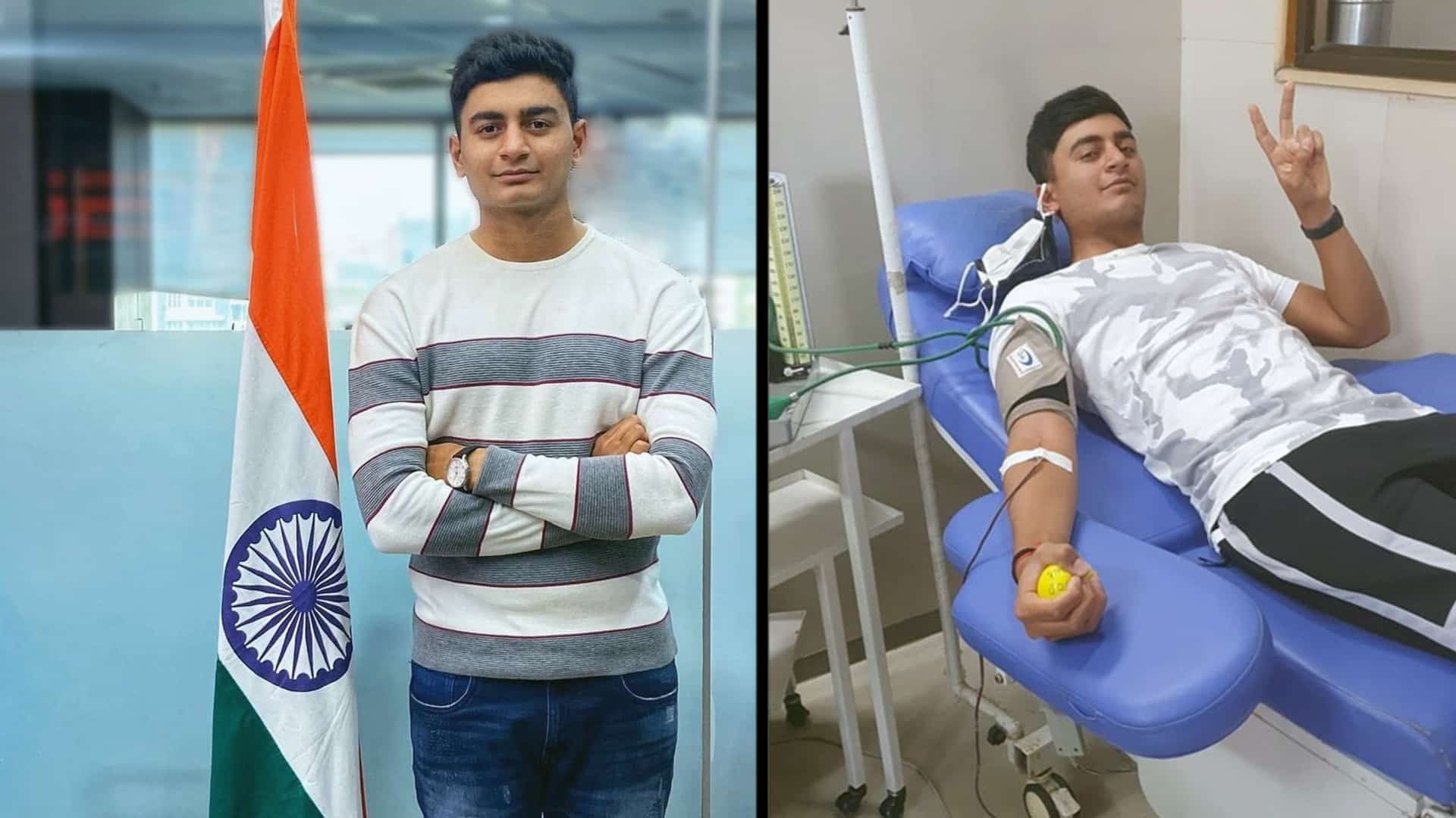 19-year-old Indian golfer donates all his earnings to fund Covid Vaccination Drive