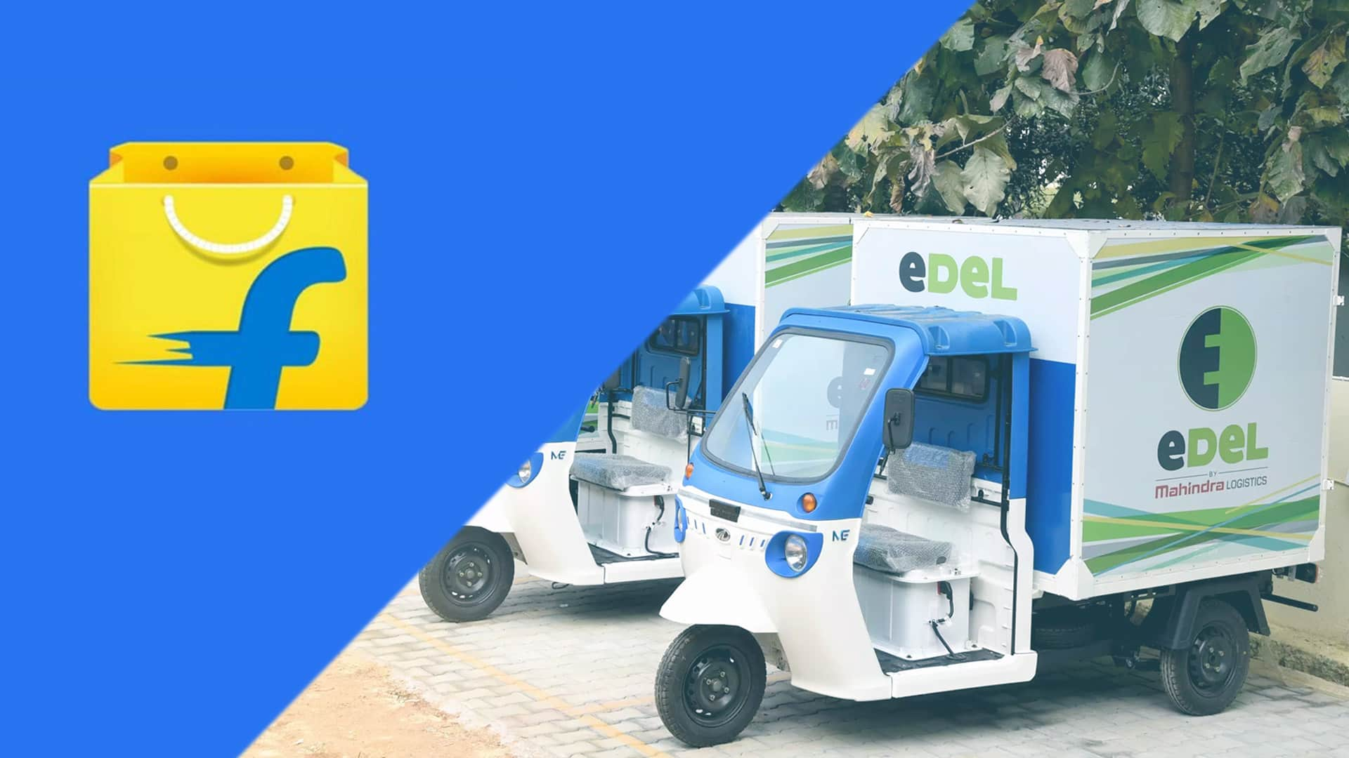 Flipkart ties up with Mahindra Logistics to accelerate deployment of Electric Vehicles