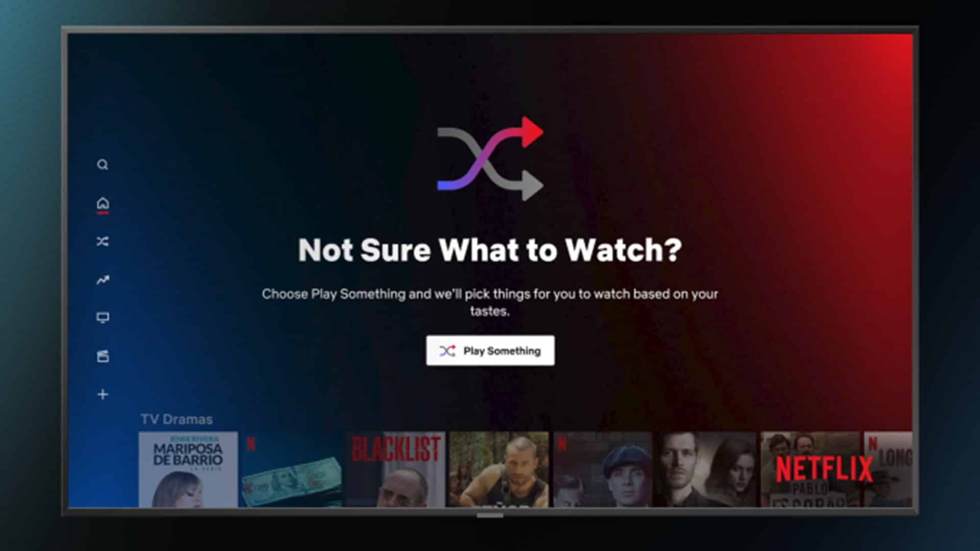 Netflix's new 'Play Something' shuffle feature is here to solve your movie night indecision