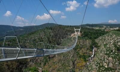 Portugal opens world's longest pedestrian suspension bridge