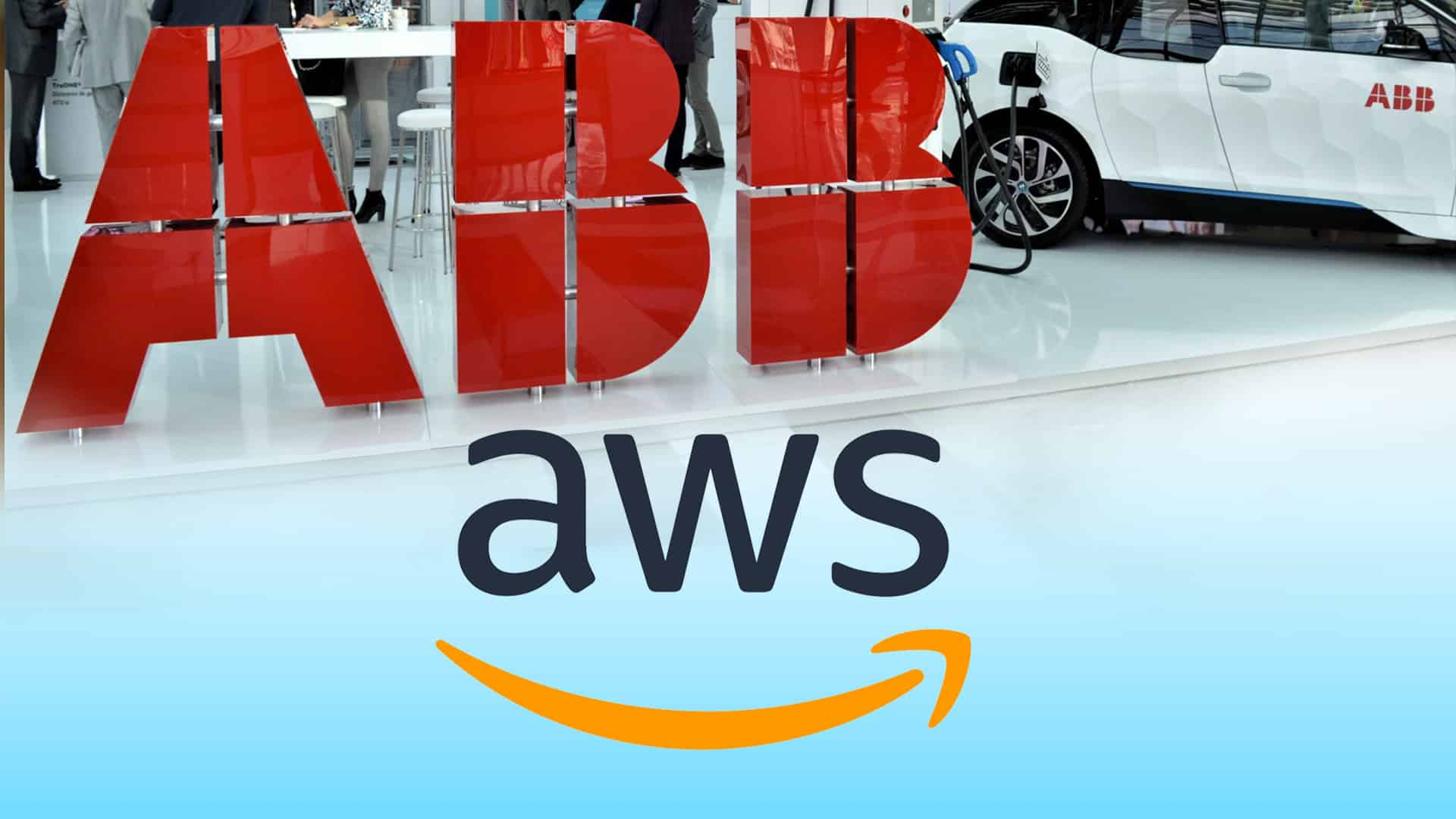 ABB and Amazon Web Services steer fleets to an all-electric future