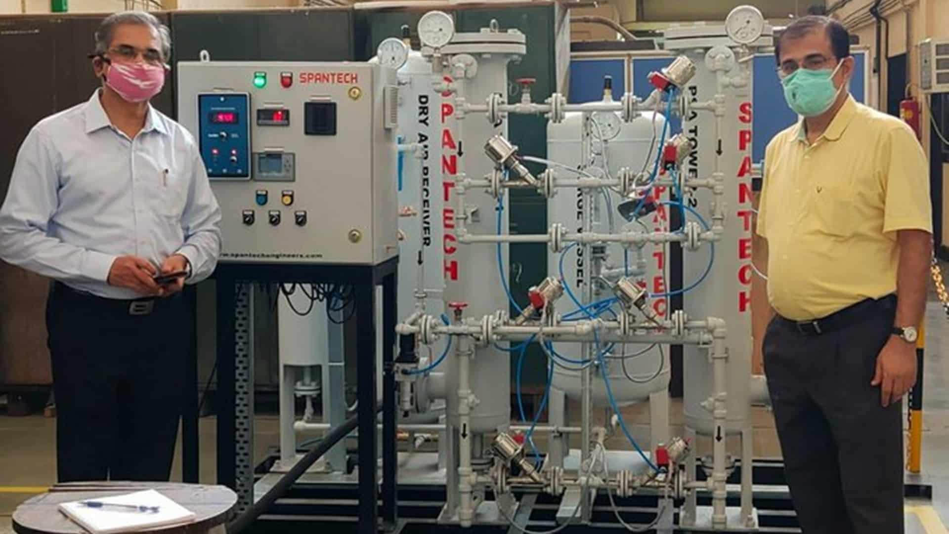 IIT converts nitrogen plant into oxygen generator