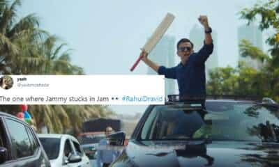 Rahul Dravid CRED Ad angry avatar