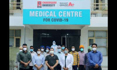 Chandigarh University sets up 100-bed Covid care facility to help corona patients
