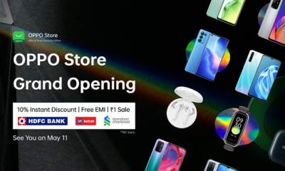 OPPO e-store goes live with limited period offers on its platform