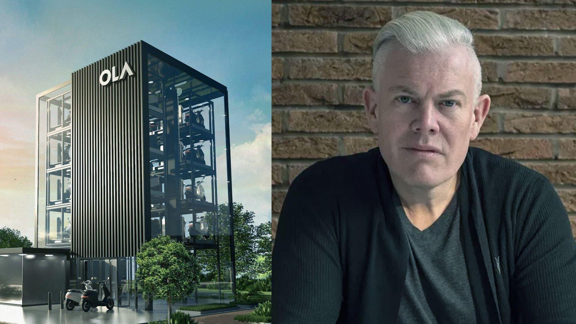 Ola Electric ropes in ex-Jaguar designer Wayne Burgess as head of vehicle design
