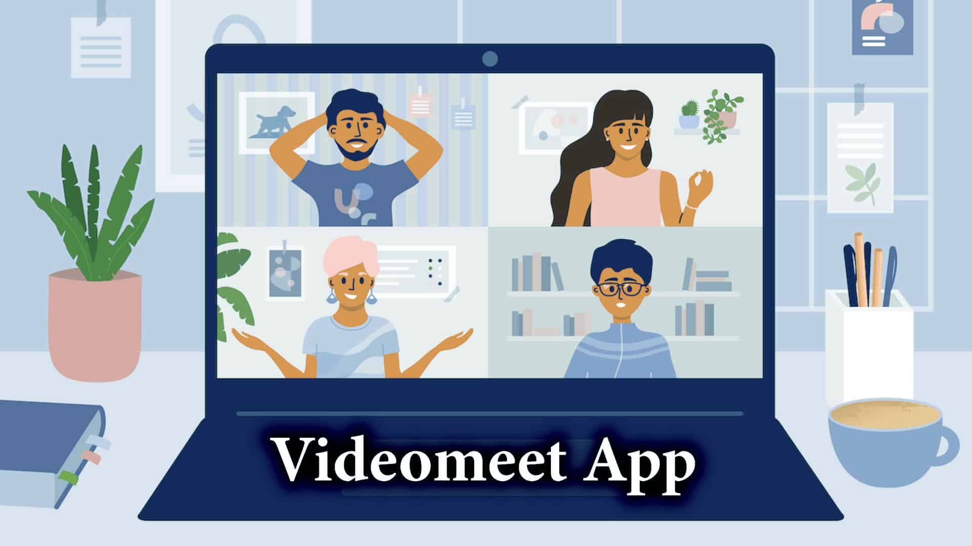 Jaipur-based startup launches VideoMeet with AI features to aid Video Conferencing